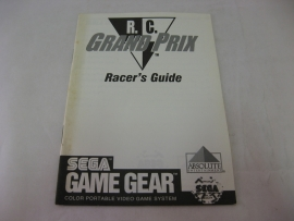 R.C. Grand Prix *Manual* (GG)