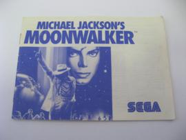 Michael Jackson's Moonwalker *Manual* (SMS)