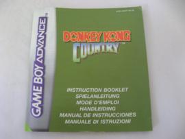 Donkey Kong Country *Manual* (NEU6)