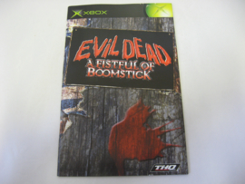 Evil Dead - A Fistful of Boomstick * Manual* (XBX)