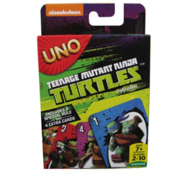 Uno - Teenage Mutant Ninja Turtles | Board Game (New)