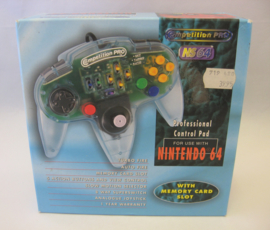 N64 Competition Pro Controller 'Clear' (Boxed)