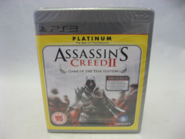 Assassin's Creed II GOTY Edition (PS3, Sealed) - Platinum -