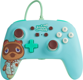 Enhanced Wired Controller 'Animal Crossing Tom Nook' (New)