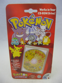 Pokemon PokeROM - Pikachu - Collectible CD-ROM (New)
