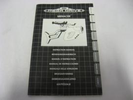 SEGA Menacer Instruction Manual