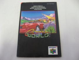 Cruis'n World *Manual* (NEU4)