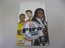 FIFA Football 2003 *Manual* (HOL)