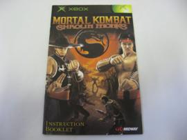 Mortal Kombat Shaolin Monks *Manual* (XBX)