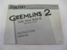 Gremlins 2: The New Batch *Manual* (FRA)