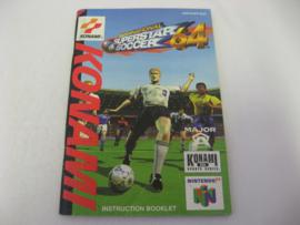 International Superstar Soccer 64 *Manual* (EUR)