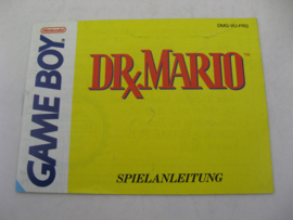 Dr. Mario *Manual* (FRG)