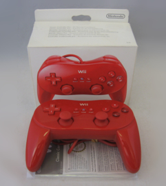 Original Wii Classic Controller Pro 'Red' (Boxed)