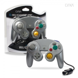 Wired Controller for Wii & GameCube - Silver (New)