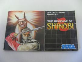 The Revenge of Shinobi *Manual*