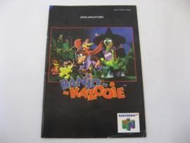Banjo Kazooie *Manual* (NNOE)