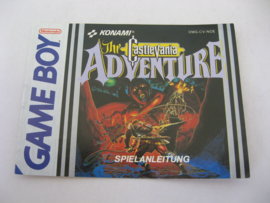 Castlevania Adventure *Manual* (NOE)