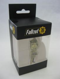 Fallout 76 - 3D Golden Vault Boy Keychain (New)