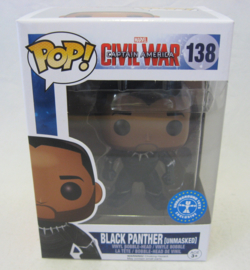 POP! Black Panther (Unmasked) - Captain America Civil War - Underground Toys Exclusive (New)