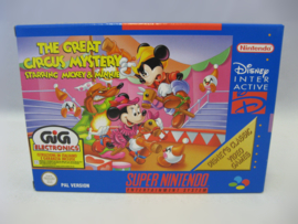 Great Circus Mystery Starring Mickey & Minnie (NUKV, NEW) - Classic -