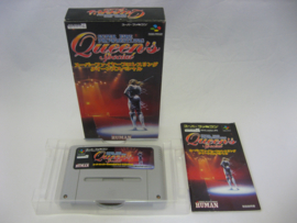 Super Fire Pro Wrestling Queen's Special (SFC, CIB)