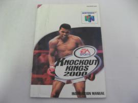 Knockout Kings 2000 *Manual* (EUR)