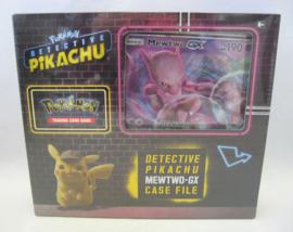 Pokémon TCG: Detective Pikachu Case File - Mewtwo-GX Box (New)