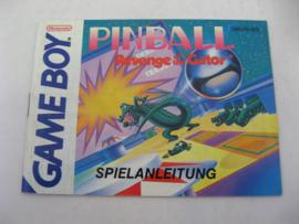 Pinball Revenge of the Gator *Manual* (NOE)