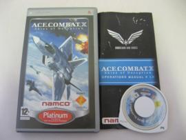 Ace Combat X - Skies of Deception - Platinum (PSP)