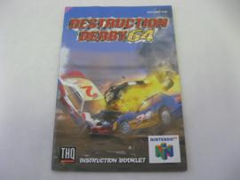 Destruction Derby 64 *Manual* (EUR)
