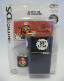 Nintendo DS Lite - Mario Sleeve Kit 'Blue' (New)