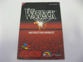 Beware the Ultimate Evil of Warlock *Manual* (USA)