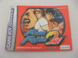 Final Fight One *Manual* (EUR)
