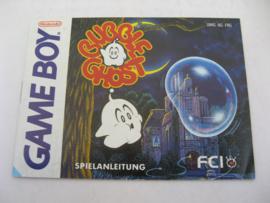 Bubble Ghost *Manual* (FRG)
