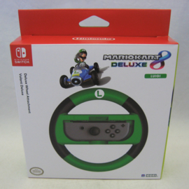Nintendo Switch Deluxe Wheel Attachment - Luigi (New)