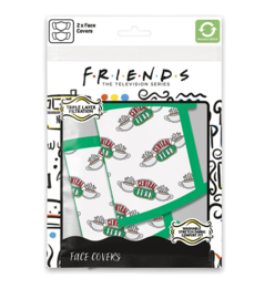 Friends: Central Perk Face Mask (New)