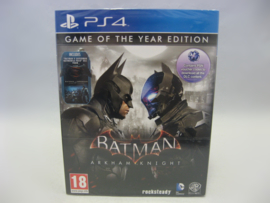 Batman Arkham Knight: Game of the Year Edition (PS4, Sealed)