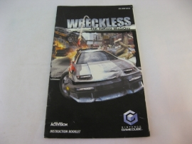 Wreckless The Yakuza Missions *Manual* (UKV)