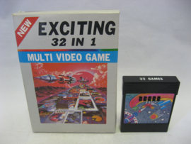 Exciting 32 in 1 - Multi Video Game (CB)