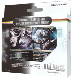 Final Fantasy TCG Two-Player Starter Set Wraith vs Knight