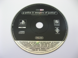 G-Police 2: Weapons of Justice - SCES-01625 (Promo, NFR)