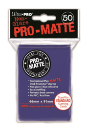 SLEEVES - Pro-Matte Blue (New)