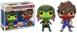 POP! Gamora vs Strider - Marvel vs Capcom Infinite - 2 Pack (New)