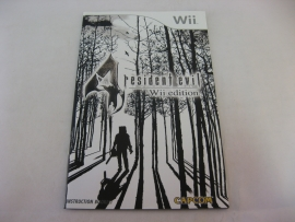 Resident Evil 4 Wii Edition *Manual* (UKV)