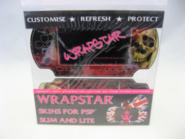 Wrapstar PSP Slim & Lite Skin 'Facing Death' (New)
