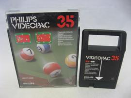 Electronic Billiards (Videopac 35)