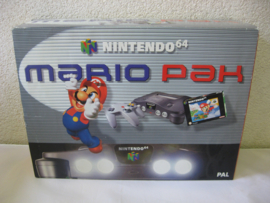 Nintendo 64 Console Set 'Mario Pak' (Boxed)
