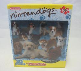 Nintendo 3D Puzzle - Nintendogs - 100 Pieces (New)