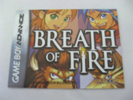 Breath of Fire *Manual* (USA)