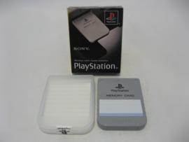 PlayStation Official Memory Card 1MB 'Grey' (Boxed)